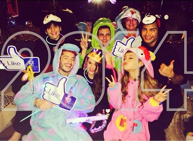 Ariana Grande - Hello Kitty Vivid Pink Rabbit Kigurumi Onesie