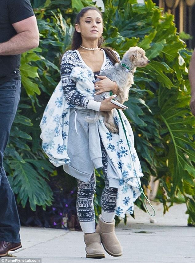 Ariana Grande - Victoria's Secret PINK Onesie Pajamas