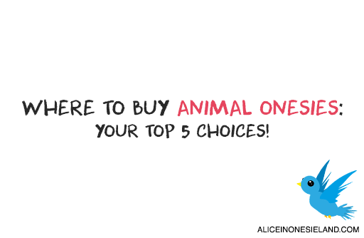 Where to Buy Animal Onesies: Your Top 5 Choices! - AliceinOnesieland.com