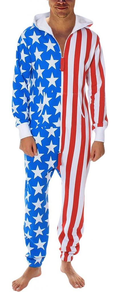 d9c1e44148ba REVIEW  (US flag and camo) SkylineWears Men s Fashion Onesie ...